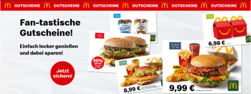 McDonalds Gutscheine Coupons & Angebote